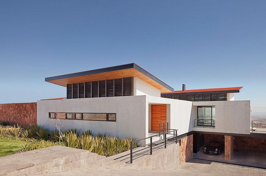 Casa Camino - дом в Мексике от Parque Humano