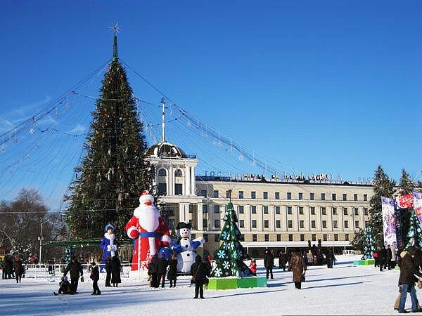 ёлка 2010, Белгород, фото из коллекции Sanchess