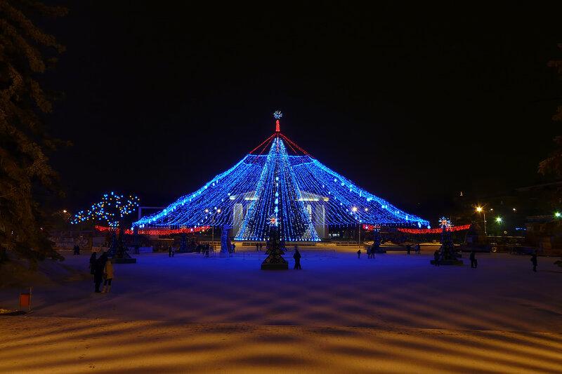 ёлка 2011, Белгород, фото Sanchess