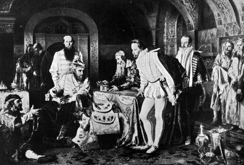 Иван Грозный показывает свои сокровища послу английскому, Sr Джером Bowes