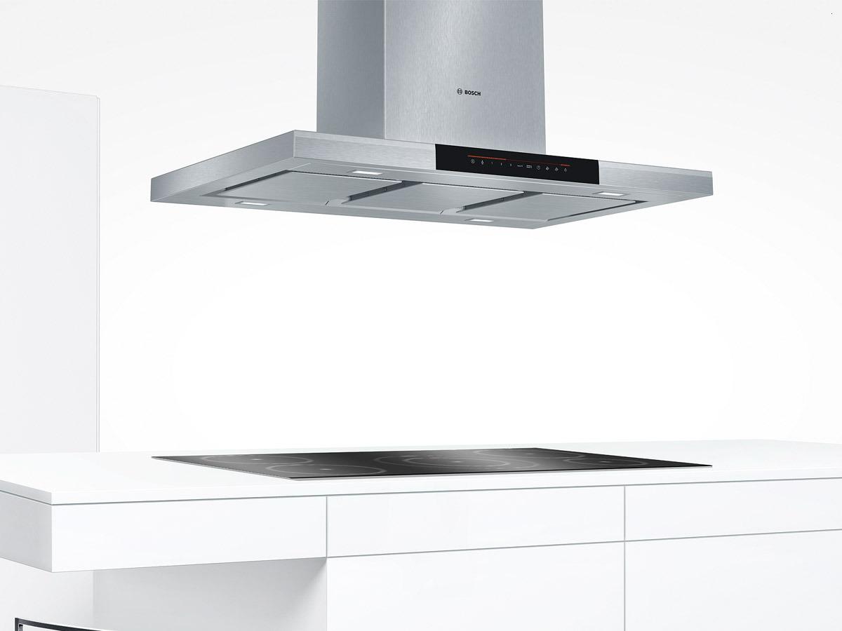 встраиваемая техника Bosch - кухонные вытяжки островные из нержавейки - Краснодар