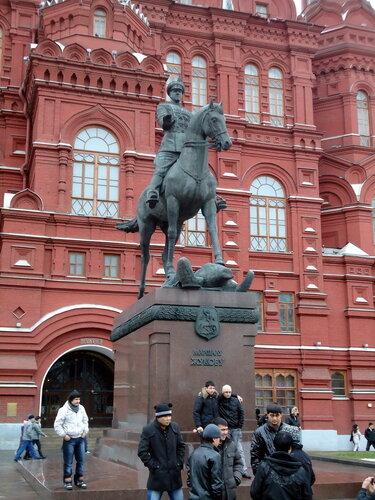 г Москва. Памятник Маршалу Жукову