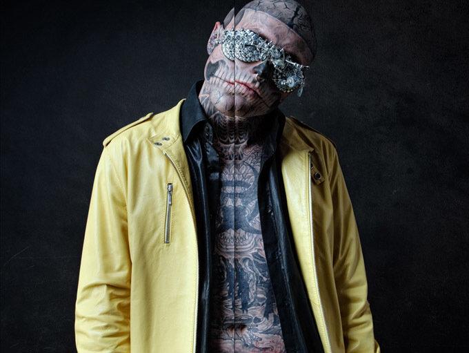 Zombie Boy в фэшн-фильме Бартека Сейвы