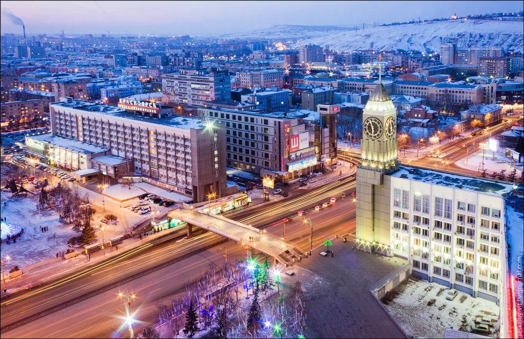 Башня Администрации Красноярска