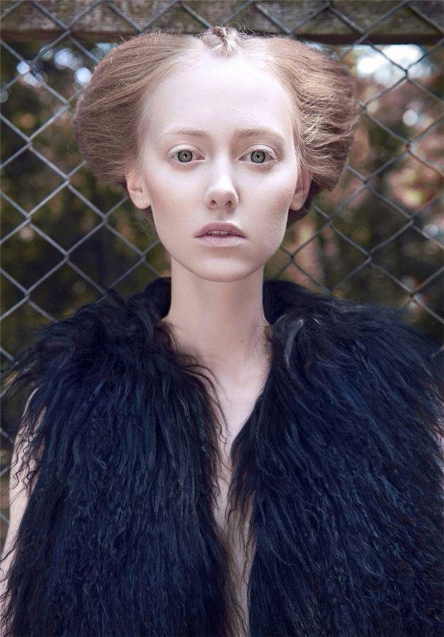 модель Кайя Вербановска / Kaja Werbanowska, фотограф Lukasz Pukowiec