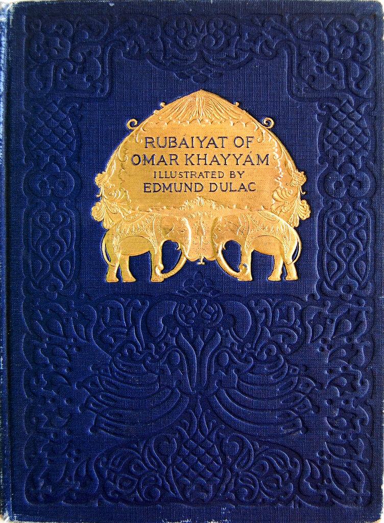 Edmund Dulac.The Rubaiyat of Omar Khayyam