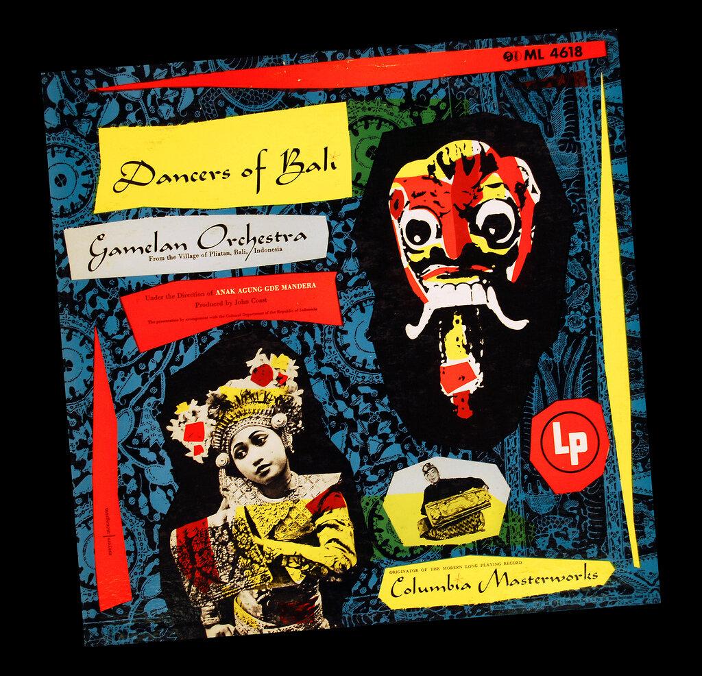 Dancers of BaliRecord Album Cover, circa 1952