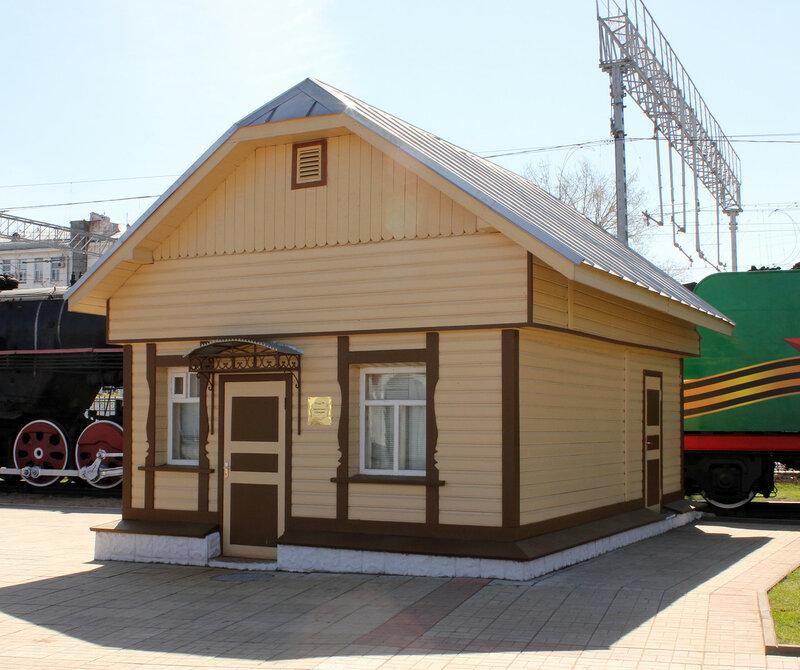 Насосная станция в депо Подмосковная