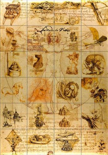 Леонардо да Винчи вошёл висторию как выдающийся художник и скульптор, архитектор и музыкант, математик...