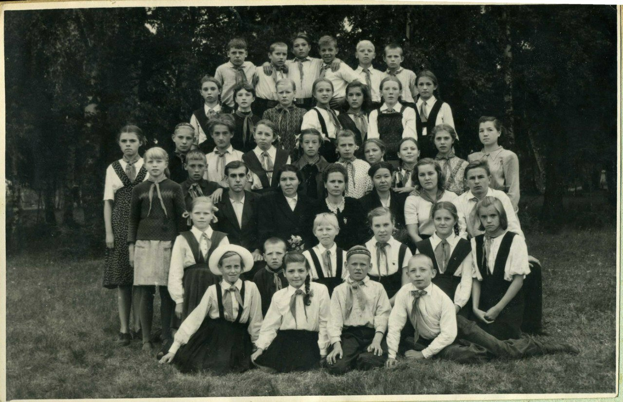 1950-е. Пионерия