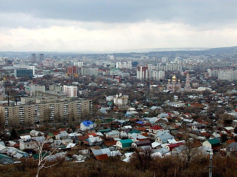 Саратов. Вид с Соколовой горы.