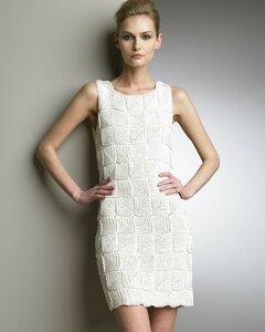 Вязаная платья от кутюр