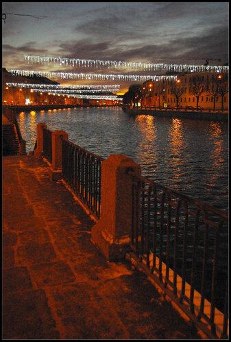 Санкт-Петербург. 25 декабря 2011