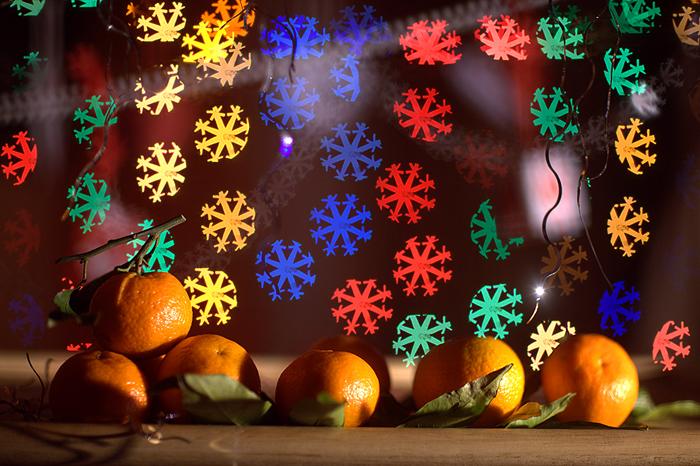 Новогодние огоньки своими руками