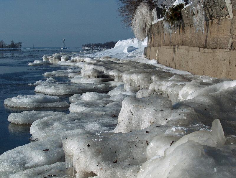 2 декабря 2003 года. Река Св.Лаврентия.