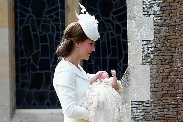 Подробности крещения принцессы Шарлотты