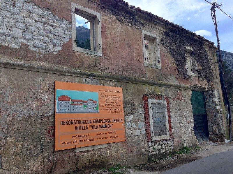 Прчань в Черногории