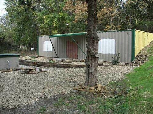 Недорогой дом из контейнеров