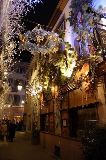 Рождество во Франции - рождественские ярмарки в Страсбурге