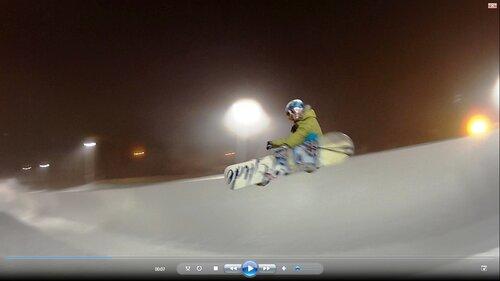 Тест двух сноубордов Glide