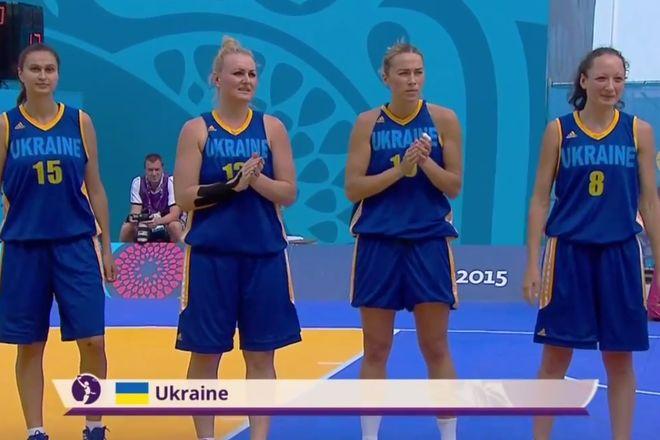 Сборная Украинского государства вышла вфинал Европейских игр
