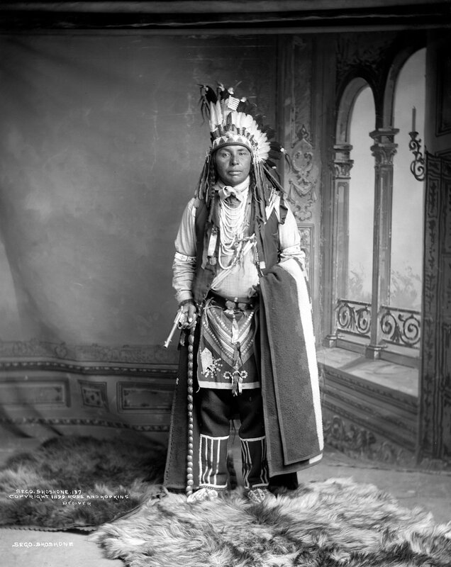Sego, Shoshone, 1899