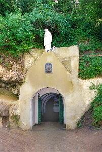 Страдч. Вход в пещеру