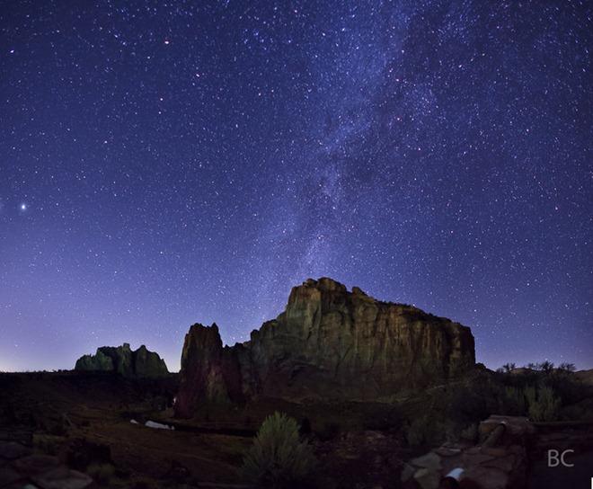 Звездное небо фотографа Ben Canales