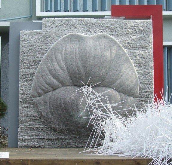 Скульптуры из трубочек
