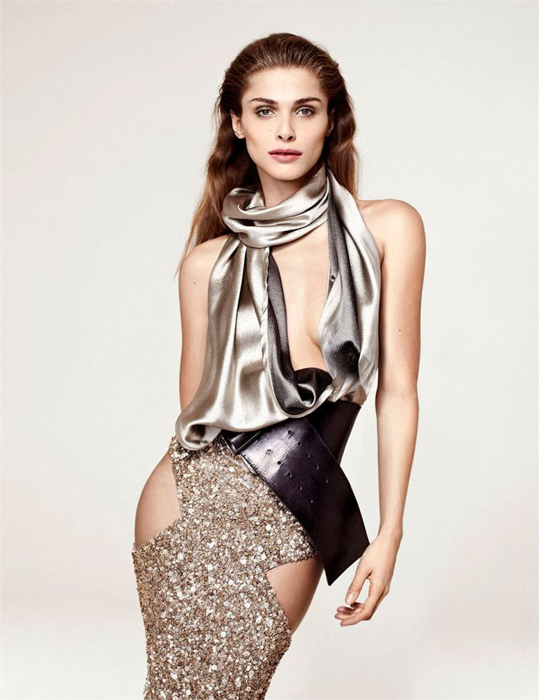 модель Элиза Седнауи / Elisa Sednaoui, фотограф Sergi Pons