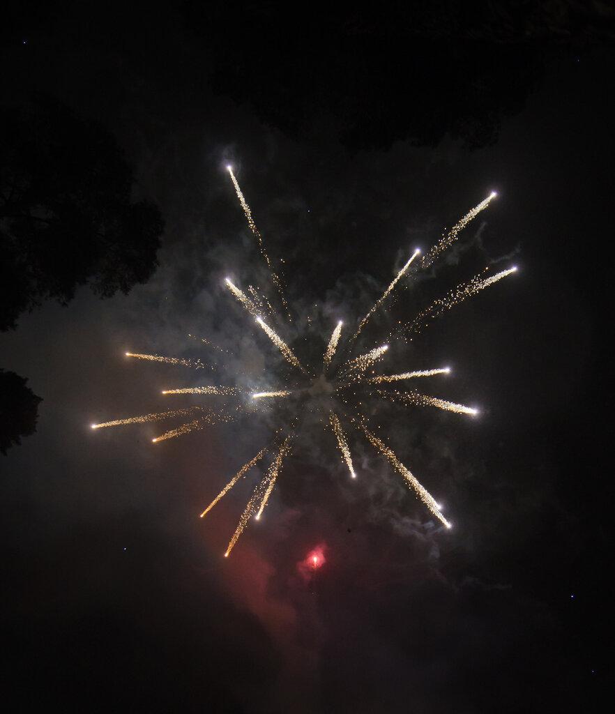 Взрыв метеорита