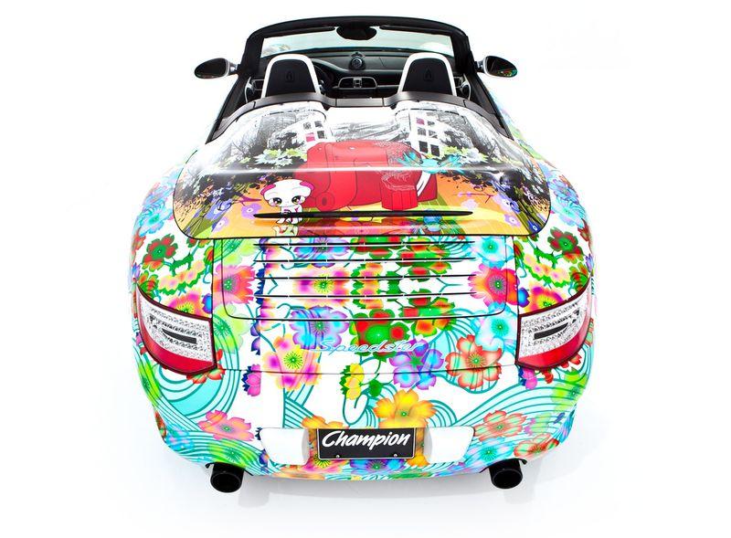 Дизайнерская раскраска Porsche 911 Speedster