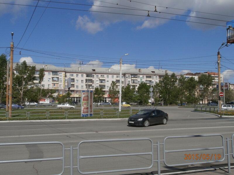 Дом недалеко от Привокзальной площади