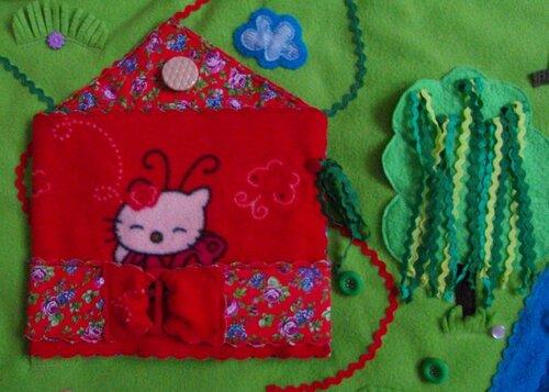 Развивающий коврик для детей Моулвиль... волшебный домик!