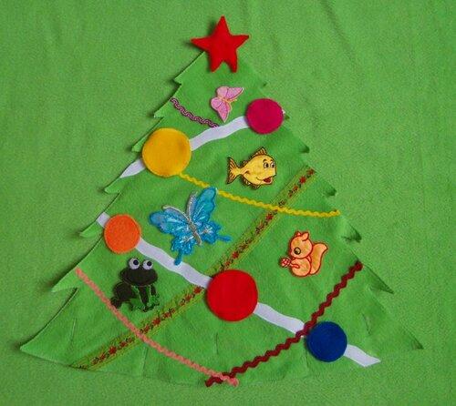 Развивающий коврик для детей Моулвиль... съемный элемент - елочка