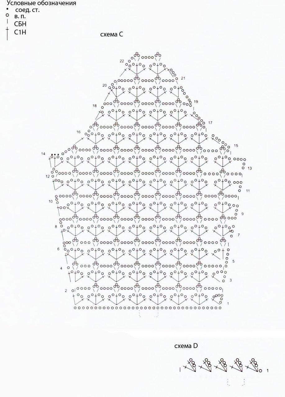 чайный сервиз крючком схема
