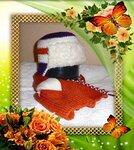 Шапка-ушанка (комплект) на зиму или весну для мальчиков и девочек.