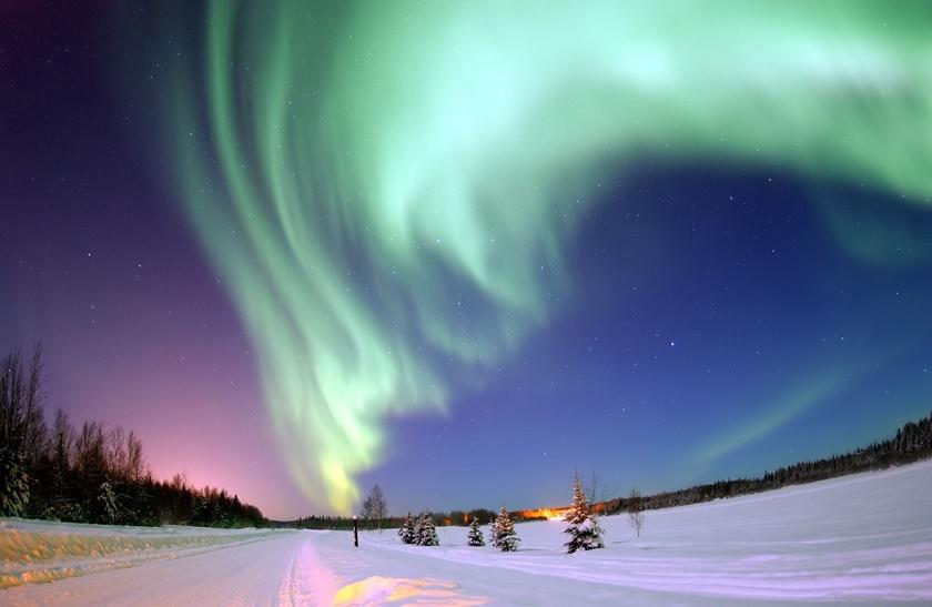 Красивые фотографии полярного сияния