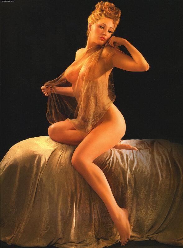 Голая Екатерина Климова на откровенных эротических