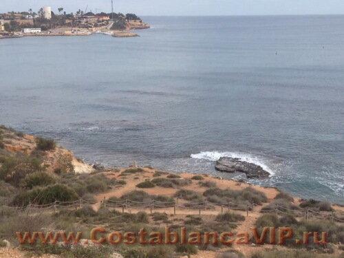 Земля в Orihuela, участок земли в Orihuela, Cabo Roig, участок земли на пляже, земля под застройку, участок земли на Коста Бланка, Коста Бланка, CostablancaVIP