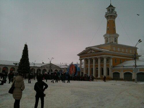 Пожарная каланча на Сусанинской площади