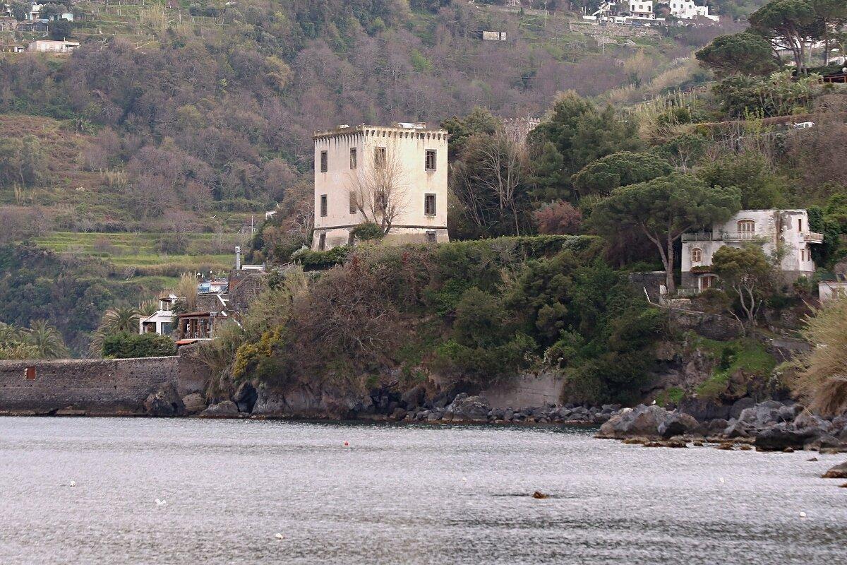Ischia Ponte. Tower of Michelangelo