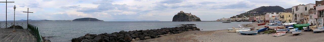 Ischia Potro. Fisherman's beach (Spiaggia dei Pescatori)