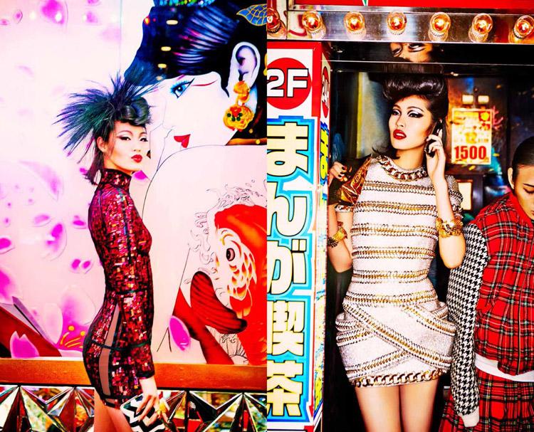 Эллен фон Унверт для Vogue Japan 2014