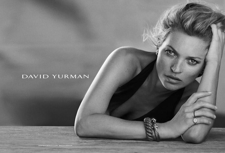 Кейт Мосс для David Yurman (4 фото)