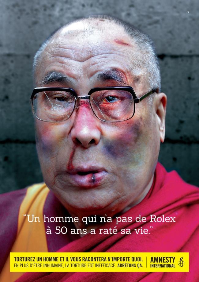 «Если учеловека в50лет нет ролекса, онпрожил жизнь зря». Кампания Amnesty International против п