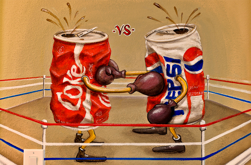 a description of the differences between coca cola and corporate executives