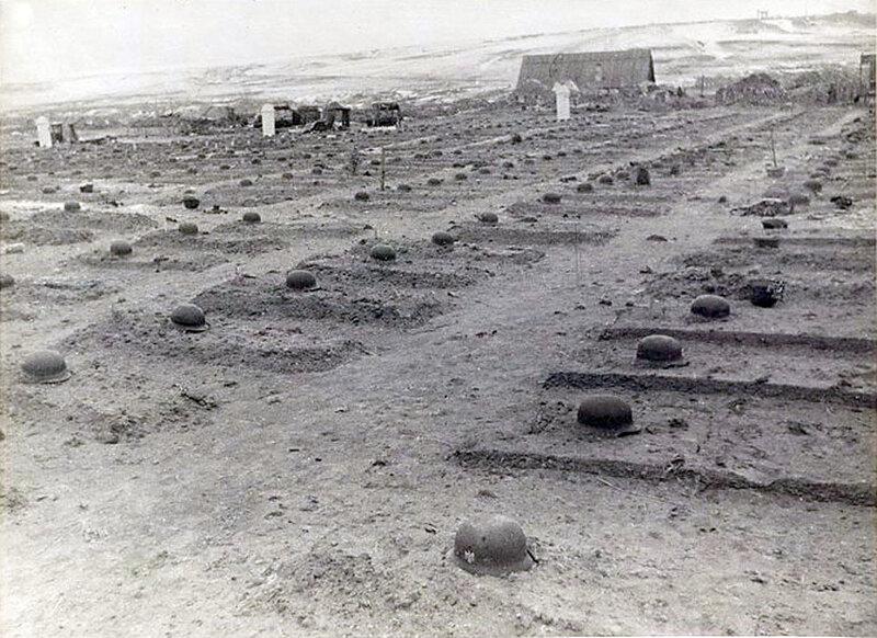 Фото С.Н. Струнникова: Кладбище немецких солдат близ деревни Городище.