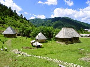 Колочава. Музей.«Старое село». Фото www.kolochava.com