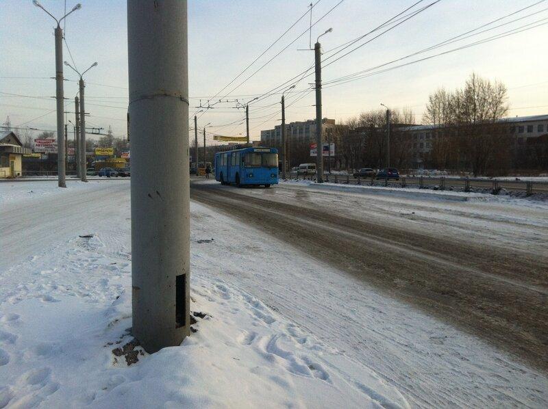 Синий троллейбус-2